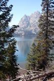 jenny jeziora Wyoming Zdjęcia Stock
