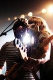 Jenny & Johnny (band) perfoms at Razzmatazz stage Stock Photos