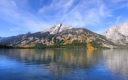 Jenny lake stock photo
