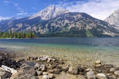 Jenny Lake Royalty-vrije Stock Afbeeldingen
