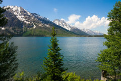 Jenny Lake Royalty Free Stock Photography