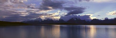 Jenny Lake. Grand Teton National Park, Wyoming Stock Photos
