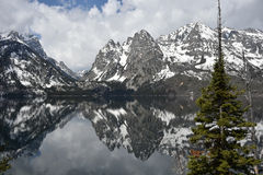 Jenny Lake Photos libres de droits