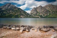 Jenny Lake imagen de archivo libre de regalías