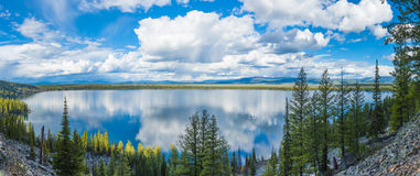 Jenny Lake lizenzfreies stockbild