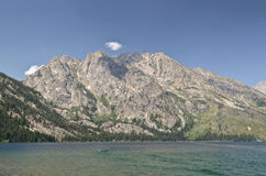 Jenny lake in Grand Teton National park Stock Photography