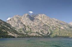 Jenny lake in Grand Teton National park. Wyoming, USA Stock Photography