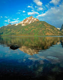 Jenny Lake. In  Grand Teton, Wyoming Stock Images