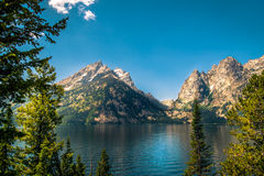 Jenny Lake Stock Photo