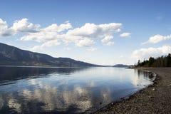 Jenny Lake. Photo taken at the beach of Jenny Lake in Grand Tetons National Park Royalty Free Stock Photos