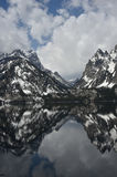 Jenny Lake Reflections Photo stock