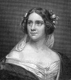 Jenny Lind. (1820-1887) on engraving from 1859. Swedish opera singer. Engraved by N.Afinger and published in Meyers Konversations-Lexikon, Germany,1859 Stock Images
