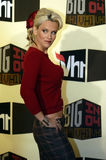 Jenny McCarthy. On the red carpet in Los Angeles in December 2 2004 Stock Image