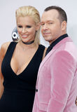 Jenny McCarthy en Donnie Wahlberg Stock Foto