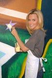 Jenny McCarthy på Pepsi förnyar projekt på MLB All Star 2010, allaktivitetshuset för El Salvadior, Santa Ana, CA. 07-13-10 Arkivbilder