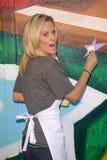 Jenny McCarthy. At the Pepsi Refresh Project at MLB All-Star 2010, El Salvadior Community Center, Santa Ana, CA. 07-13-10 Stock Photography