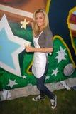 Jenny McCarthy. At the Pepsi Refresh Project at MLB All-Star 2010, El Salvadior Community Center, Santa Ana, CA. 07-13-10 Royalty Free Stock Image