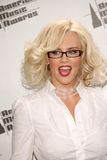 Jenny McCarthy in the Press Room at the 33rd Annual American Music Awards. Shrine Auditorium, Los Angeles, CA. 11-22-05 stock photography
