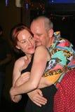 Jenny McShane e J. Nathan Brayley na festa de anos para J. Nathan Brayley, Amagis, Hollywood, CA 05-18-08 Fotografia de Stock Royalty Free