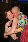 Jenny McShane and J. Nathan Brayley at the birthday party for J. Nathan Brayley, Amagis, Hollywood, CA 05-18-08. Jenny McShane and J. Nathan Brayley  at the Royalty Free Stock Photography