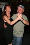 Jenny McShane y Matthew Cunningham en la fiesta de cumpleaños para J. Nathan Brayley, Amagis, Hollywood, CA 05-18-08 Fotos de archivo