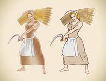 Jenny The Reaper illustration de vecteur