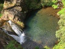 Jenolan выдалбливает водопад стоковая фотография rf