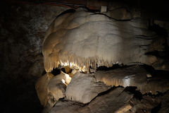 Jenolan Caves. Limestone in Jenolan Caves, Australia royalty free stock photos