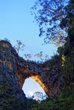 Jenolan Caves Carlotta Arch by sunset Royalty Free Stock Photos