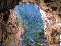 jenolan grottor Arkivfoton
