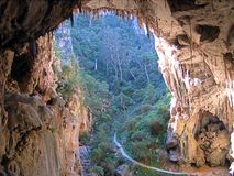 Jenolan Höhlen Stockfotos