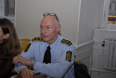 JENS HENRIK HOJBJERG_POLICE DIREKTÖR arkivbilder