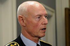 JENS HENRIK HOJBJERG_POLICE szef Obrazy Royalty Free