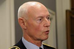 JENS HENRIK HOJBJERG_POLICE szef Obraz Royalty Free