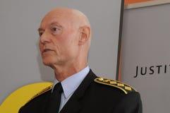 JENS HENRIK HOJBJERG_POLICE szef Obrazy Stock