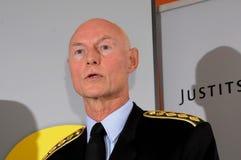 JENS HENRIK HOJBJERG_POLICE szef Zdjęcia Royalty Free