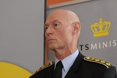 JENS HENRIK HOJBJERG_POLICE szef Zdjęcie Stock