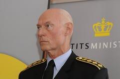 JENS HENRIK HOJBJERG_POLICE szef Zdjęcie Royalty Free