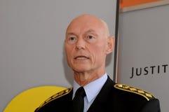 JENS HENRIK HOJBJERG_POLICE szef Fotografia Royalty Free