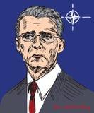 Jens Stoltenberg, Norweski polityk i 13th sekretarka, - generał nato Obraz Stock
