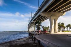 Jensen Beach Bridge Florida photos libres de droits