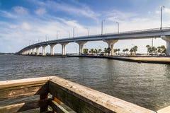 Jensen Beach Bridge Florida Royalty Free Stock Photo
