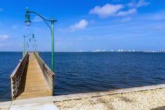 Jensen Beach Causeway park Stock Photo