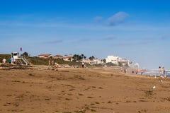 Jensen Beach scénique à la journée image stock