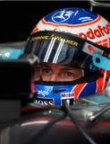 Jenson Button Imágenes de archivo libres de regalías