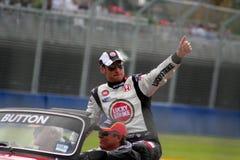 Jenson Button Stock Photo