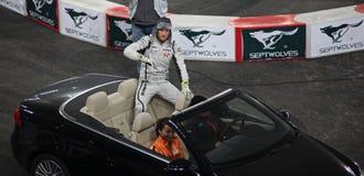 Jenson Button (gigaoctets) Images stock