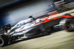 Jenson Button Jerez 2015 Royaltyfria Bilder