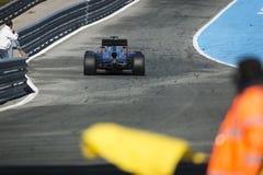Jenson Button Jerez 2015 Imagen de archivo libre de regalías