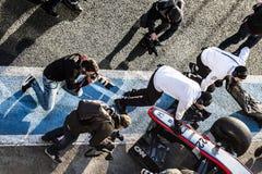 Jenson Button Jerez 2015 Immagine Stock Libera da Diritti